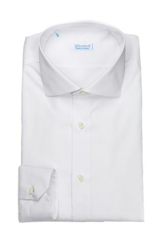 CAMICIA SARTORIALE IN COTONE TRAVEL