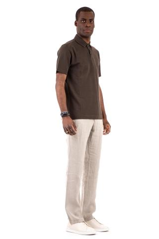 POLO IN COTONE FROSTED