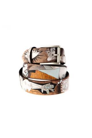 Cintura artigianale guernica dipinta manualmente