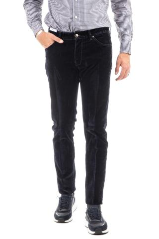 JEANS IN VELLUTO LISCIO SUPER SLIM FIT