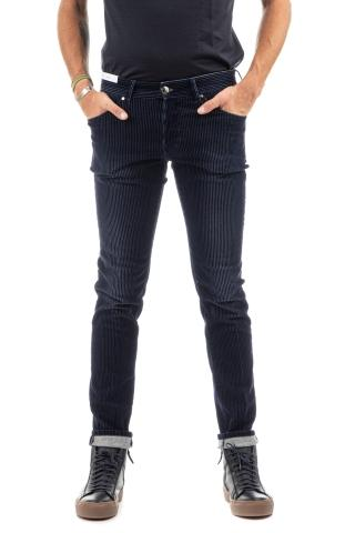 JEANS IN VELLUTO A COSTE SUPER SLIM FIT
