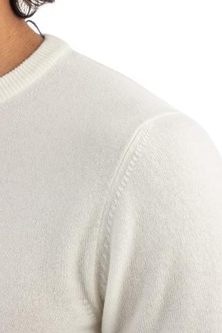 maglia girocollo in cashmere