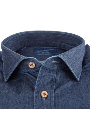 CAMICIA SARTORIALE IN DENIM
