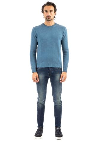 MAGLIA GIROCOLLO IN LANA FROSTED