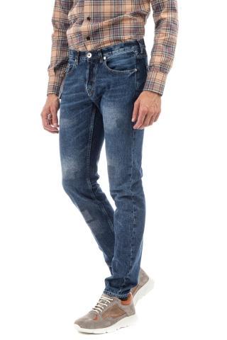 Jeans con rotture in puro cotone