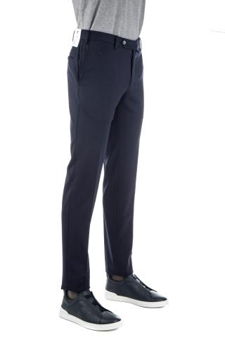 PANTALONE IN LANA TECNICA ANTI STROPICCIAMENTO SUPERSLIM FIT