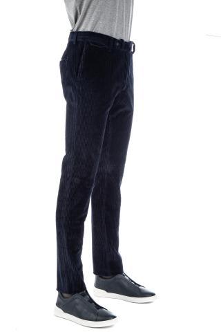 Pantalone in velluto costa roccia