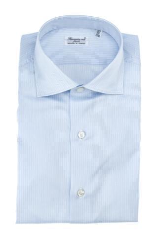 Camicia sartoriale in twill di cotone linea milano
