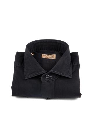 CAMICIA IN DENIM BLACK LINEA DANDYLIFE