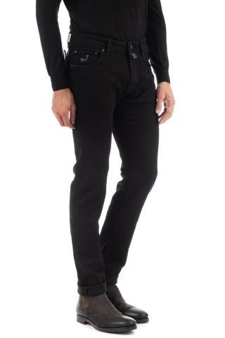 Jeans nero j622 comfort etichetta nera