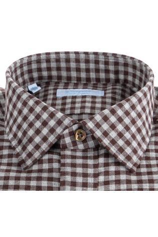 Camicia sartoriale vichy