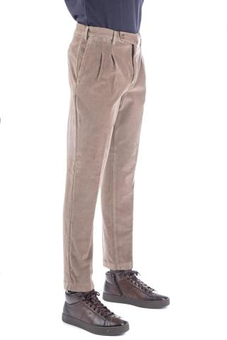 PANTALONE IN VELLUTO 2000 RIGHE PREPPY FIT
