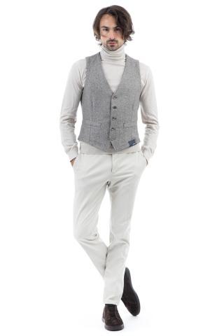 Weaved wool waistcoat