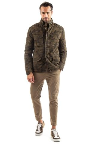 field jacket camouflage in cotone