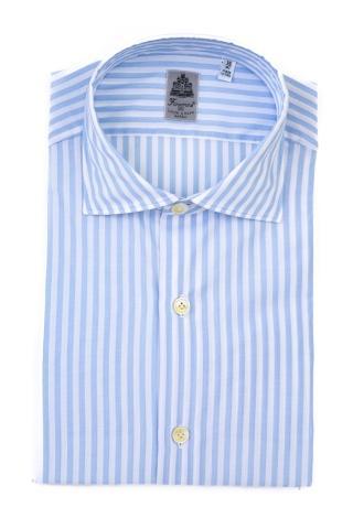 Camicia bacchettata in cotone mod. seattle