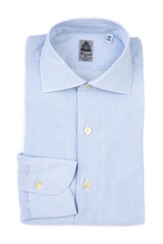 Camicia in cotone-lino mod. seattle
