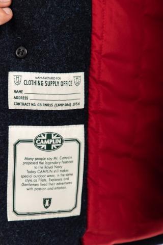 cappotto in lana anti acqua