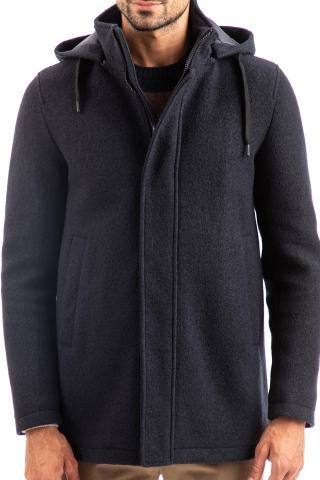 giaccone in lana casentino linea in-tech