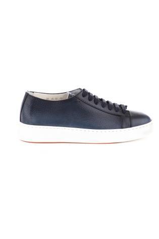Sneaker essentials in pelle martellata
