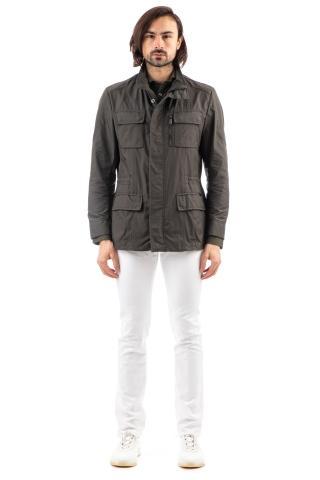Field jacket in nylon mod. manolo-km
