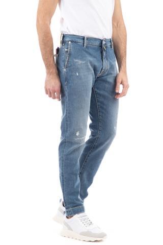 Jeans micro rotture j676 comfort