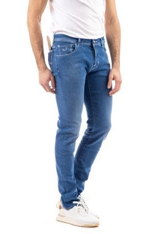 Jeans j622slim comfort etichetta crema