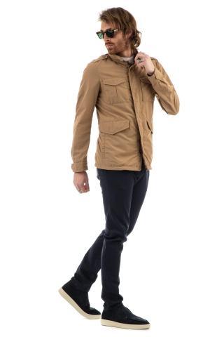 Field jacket in nylon ultralight