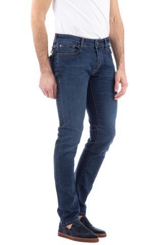 Jeans etichetta marrone mod. credi
