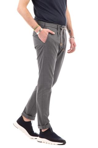 Pantalone in lana comfort con coulisse