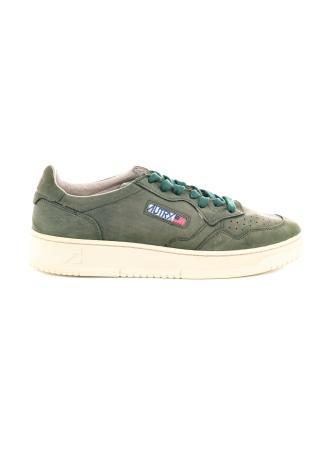 Sneaker in pelle vintage