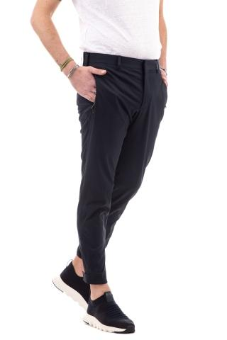 Pantalone in batavia stretch di nylon