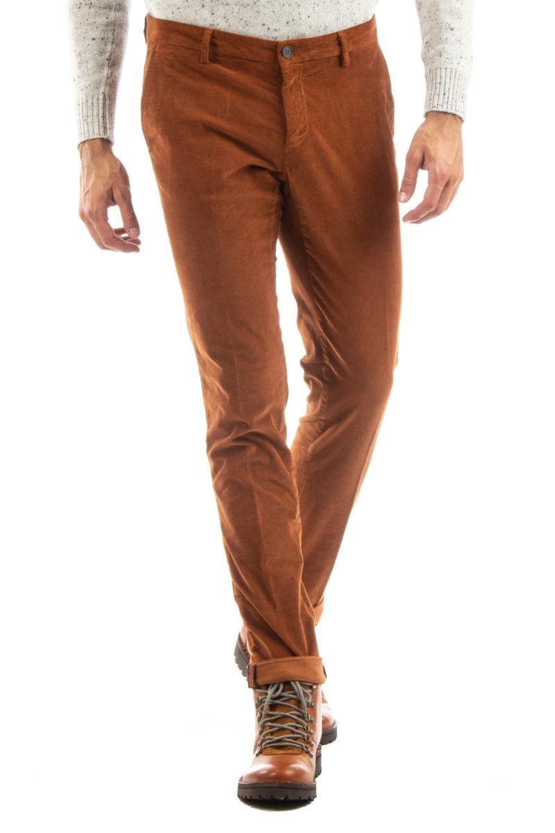 pantalone in velluto 2000 righe mod. milano