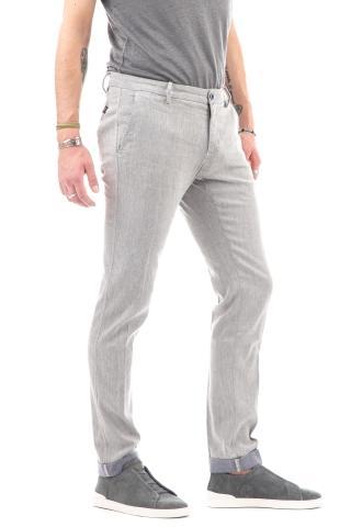 Pantalone in lino-cotone mod. milano