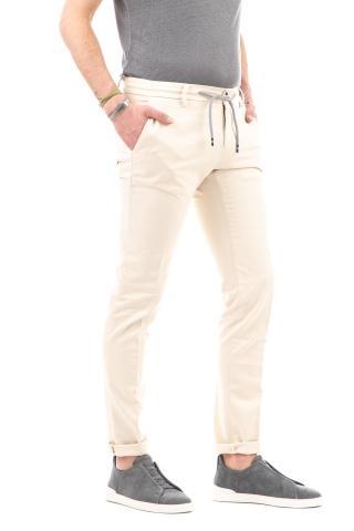 Pantalone jogger in cotone mod. milano