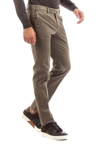 PANTALONE IN COTONE ARMATURATO SUPERSLIM FIT