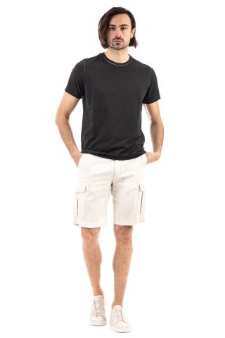 T-shirt in cotone frosted