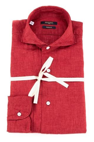 Camicia in lino modern fit