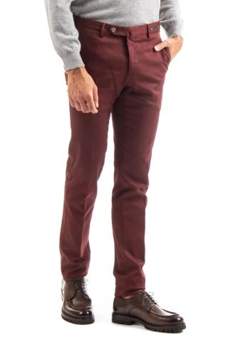 PANTALONE TRAVEL IN JERSEY DI COTONE SUPERSLIM FIT
