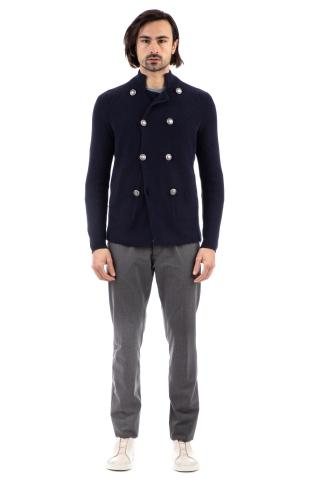 Cardigan-outerwear doppiopetto