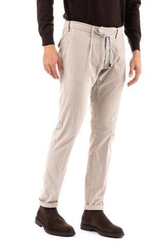 Pantalone in fustagno con coulisse