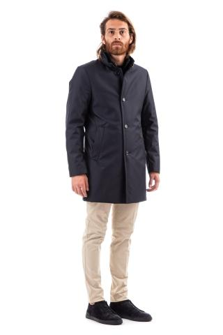Cappotto in nylon imbottito in fine piumino mod. bond-wi
