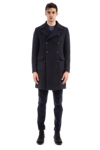 Cappotto doppiopetto in lana mod. carlo/z