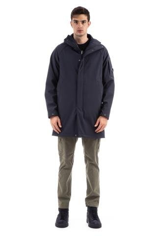 Parka lungo in cp shell