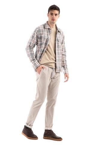 Overshirt in flanella check