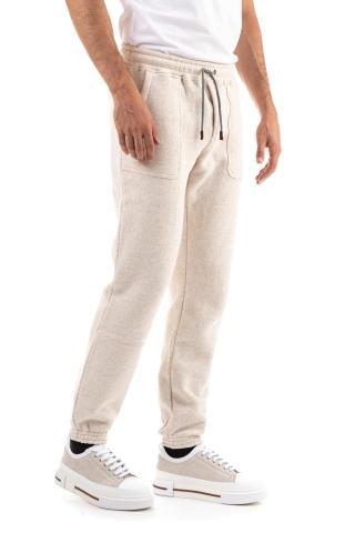 Pantalone felpa in cotone