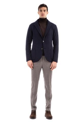 Giacca-maglia in lana-cashmere