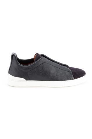 Sneakers triple stitch bimateriale