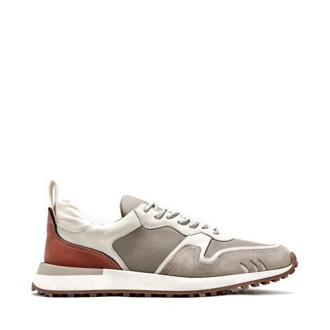 Sneaker bimateriale