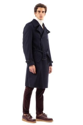 Trench in lana-cashmere