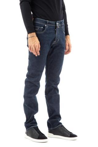 Jeans limited edition etichetta cognac bard fit